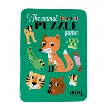 Puzzle animaux par Ingela Arrhenius