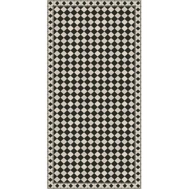 Tapis vinyle Chess - Noir
