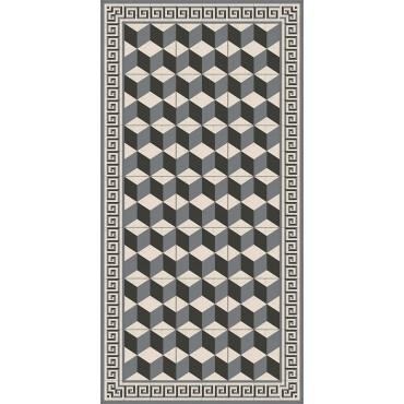 tapis vinyle bar gris adama perlin paon paon. Black Bedroom Furniture Sets. Home Design Ideas