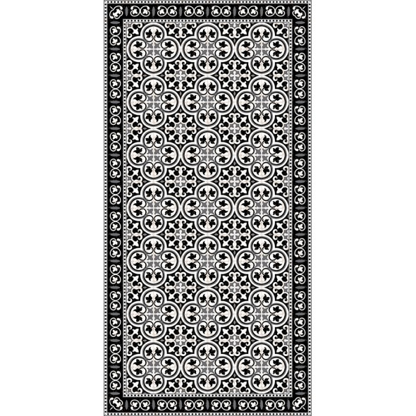 tapis vinyle pinta black adama perlin paon paon. Black Bedroom Furniture Sets. Home Design Ideas