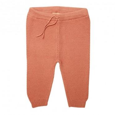Pantalon maille bébé - Rose