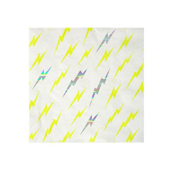 16 serviettes en papier - Super-héro