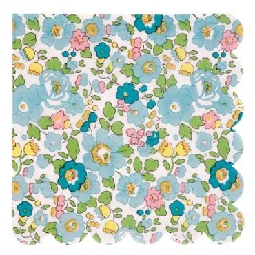 20 serviettes en papier - Liberty betsy