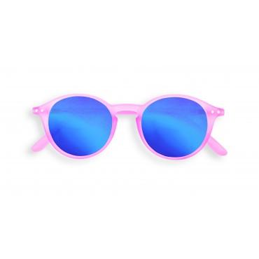 Lunettes de soleil Junior D - Jelly pink blue mirror