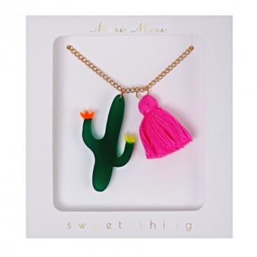 Collier enfant - Cactus