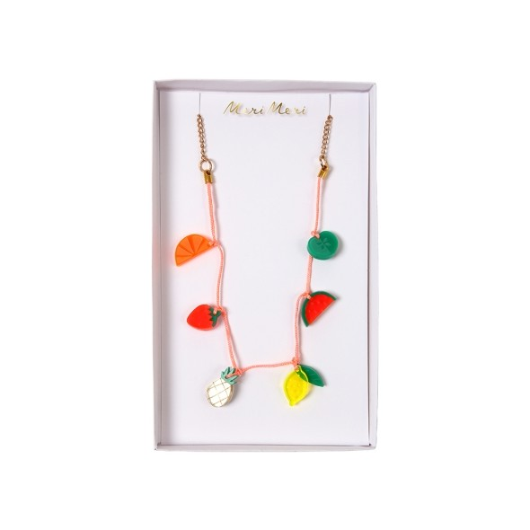 Collier enfant - Charms fruits