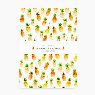 Carnet A6 - Ananas