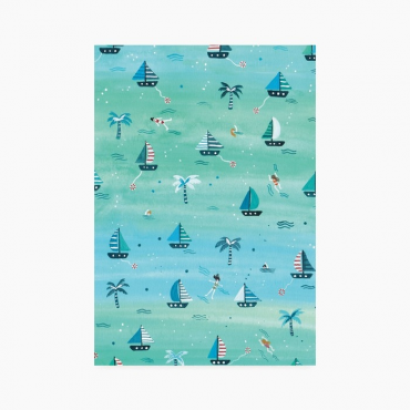 Carnet A5 - La mer