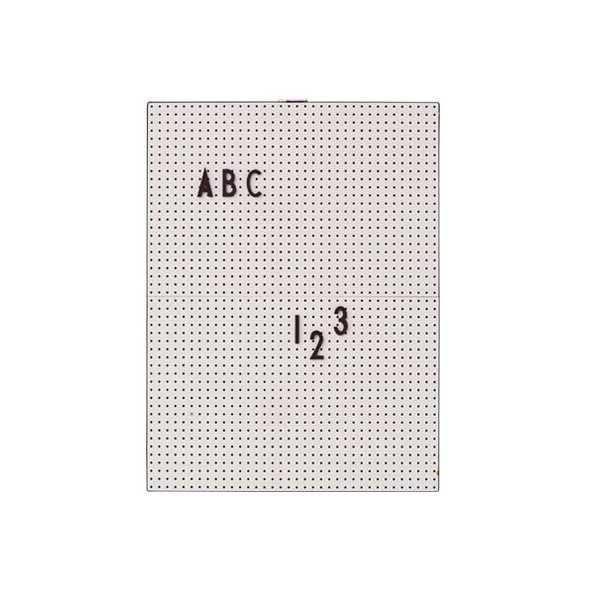 Pegboard A4 - Gris