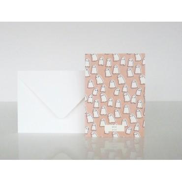 Carte postale Bouh - Fantômes