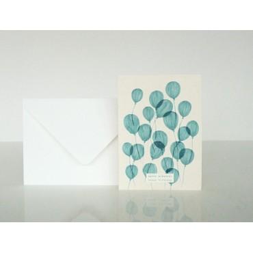 Carte postale - Dans les airs