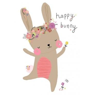 Carte postale - A.Baylis - Happy bunny
