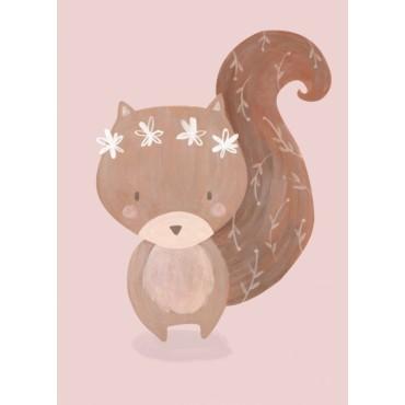 Carte postale - B. Pozzi - Squirrel