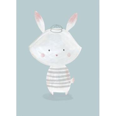 Carte postale - B. Pozzi - Bunny