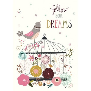Carte postale - N. Upsher - Follow your dreams