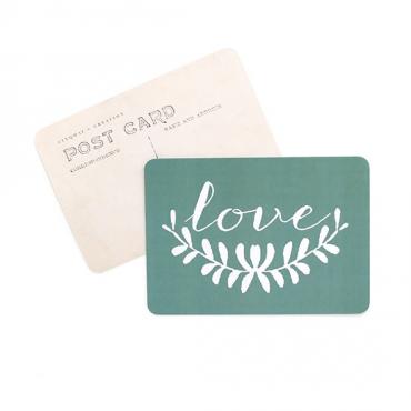 Carte Love - Green