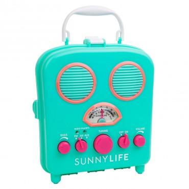 Radio de plage Beach Sounds - Turquoise