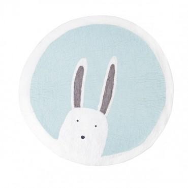 Tapis feutre Pasu - Bunny / Jade