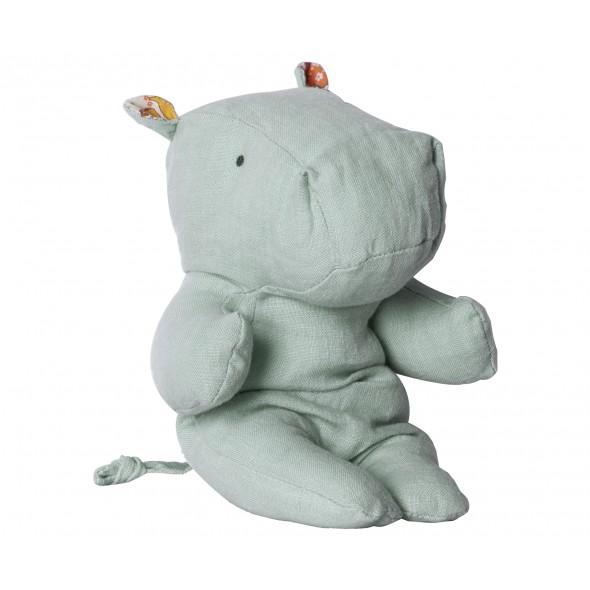 Doudou Hippopotame - Bleu