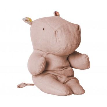 Doudou Hippopotame - Rose