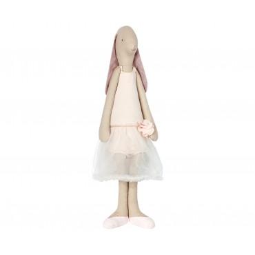 Grande Poupée Lapin Fille - Ballerina Rose