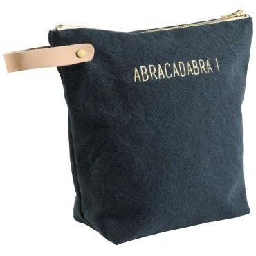 Trousse de toilette Abracadabra - Ardoise (GM)