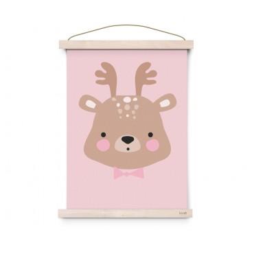 Affiche Forrest Animals - Ms Deer