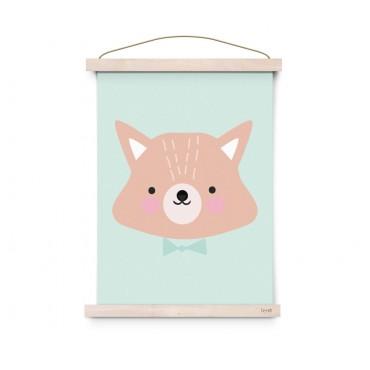 Affiche Forrest Animals - Mr Fox