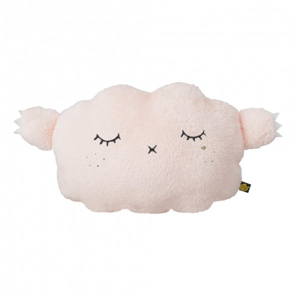 Coussin-Peluche Ricesnooze Luxe - Champagne