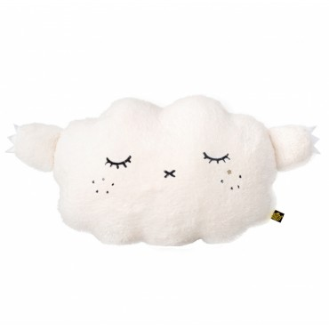 Coussin-Peluche Ricesnore Luxe - Blanc