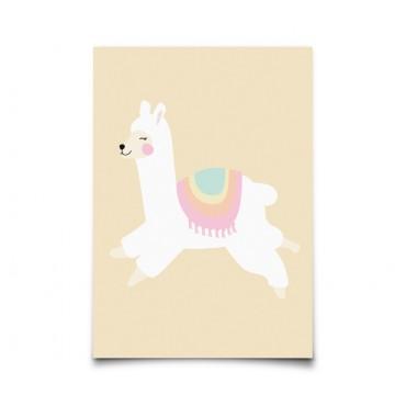Carte postale - Alpaga