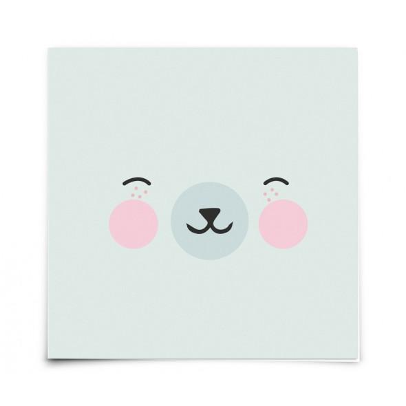Carte postale Animal Faces - Polar