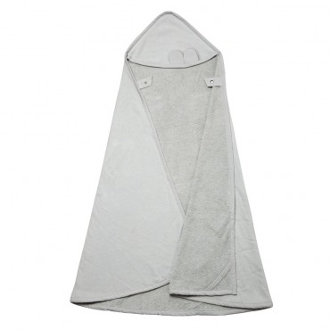 Cape de bain - Bear (icy grey)