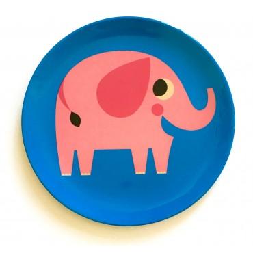 Assiette par Ingela P. Arrhenius - Elephant