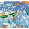 Poster géant à colorier - Ocean