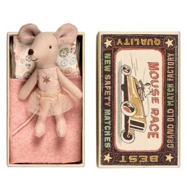 Petite Soeur Souris dans une boite - Etoile (rose)