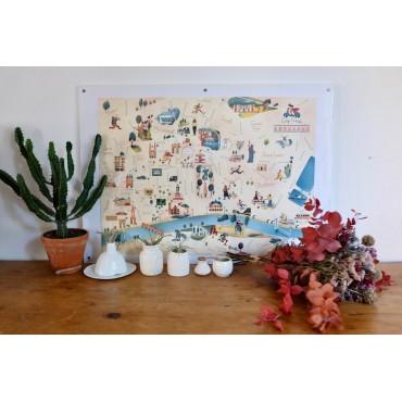 Carte by Julie Flamingo - Bordeaux