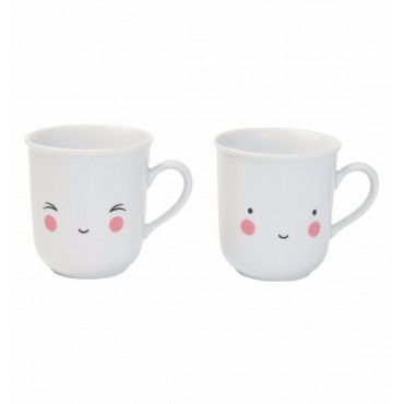 Lot de 2 tasses - Fun