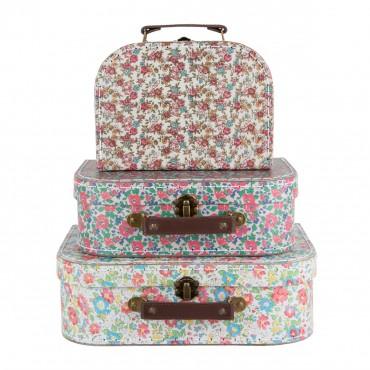 Set de 3 valises - English garden