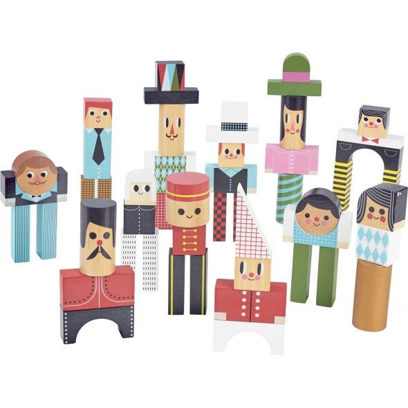 Les bonhommes en cube par Ingela P. Arrhenius