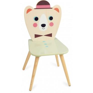Chaise Ours à chapeau par Ingela P. Arrhenius