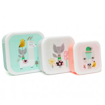 Lunch box - Lama & Friends