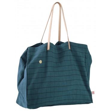 Grand sac shopping Oscar - Peacock
