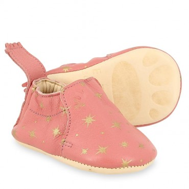 Chaussons Blumoo Cosmos - Rosy / or