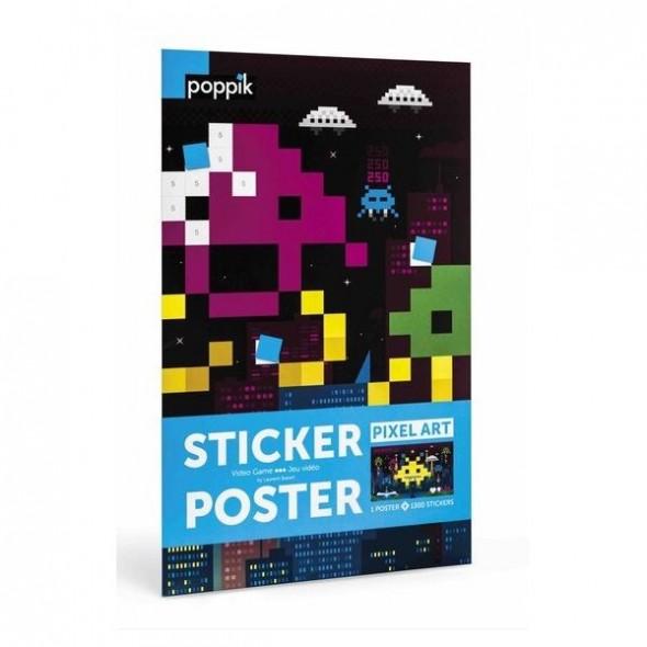 Sticker Poster - Jeu vidéo