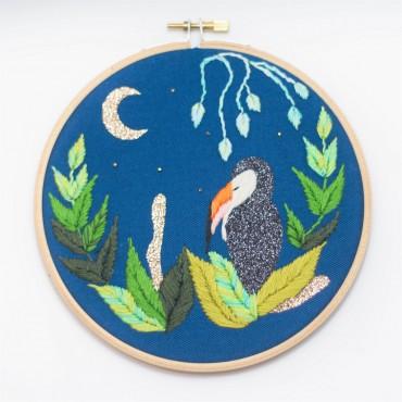 Broderie décorative - Toucan