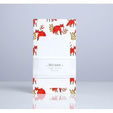 Bloc-notes - Foxes