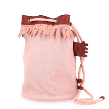Petit sac Bobby - Rose guimauve