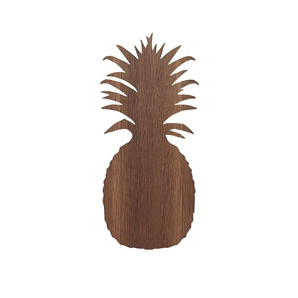 Lampe applique Ananas - Bois