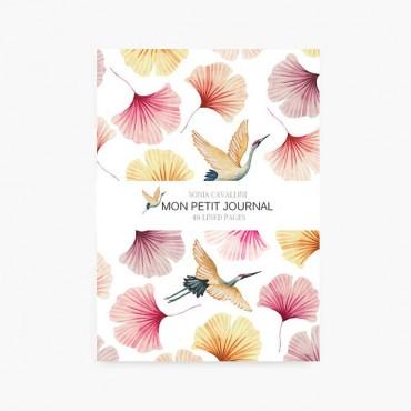Carnet de notes A6 - Japan birds